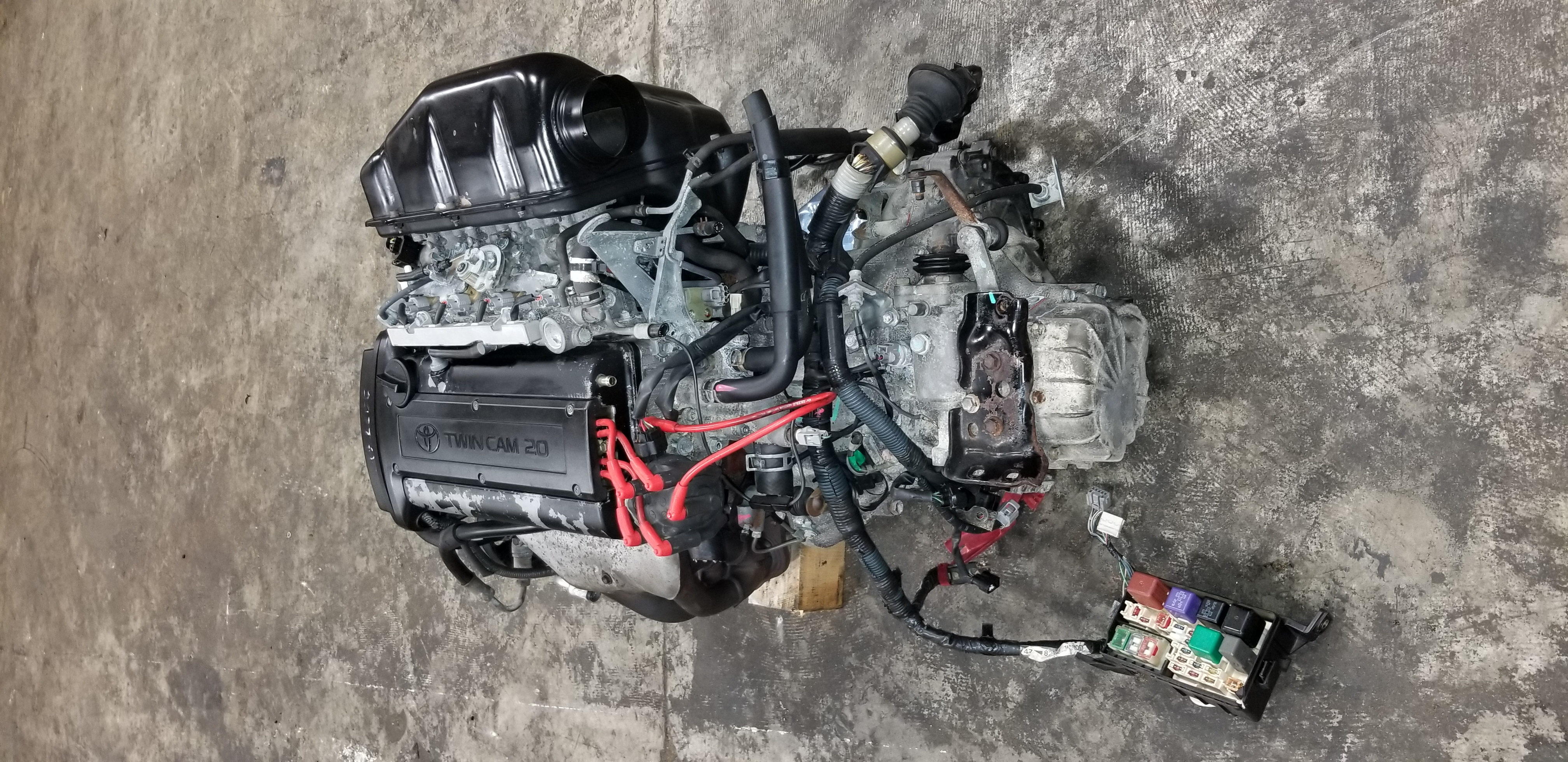 4age 20v Black Top Corolla Ae111 Complete Engine Swap M T 5 Speed Kompressor Toyota Corona Twincam Denso