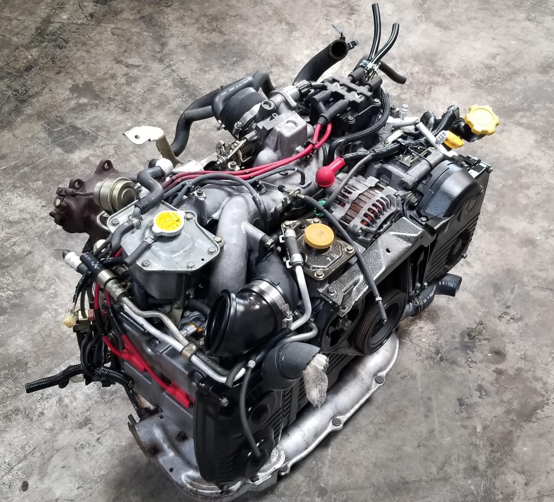EJ205 Non-AVCS JDM Engine 02-05 Subaru Forester Impreza ...