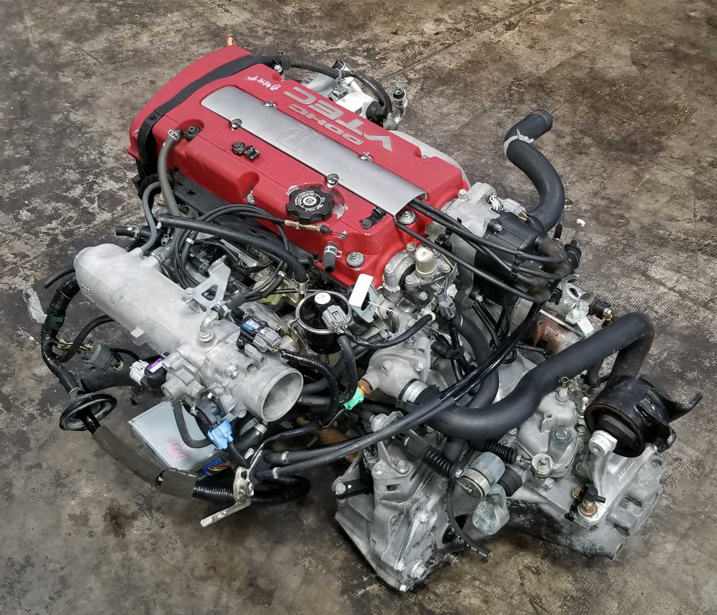 Nissan Chula Vista >> H22A 1997 2001 Honda Accord Prelude 2.2L Euro-R VTEC Engine with T2W4 5speed LSD Manual ...