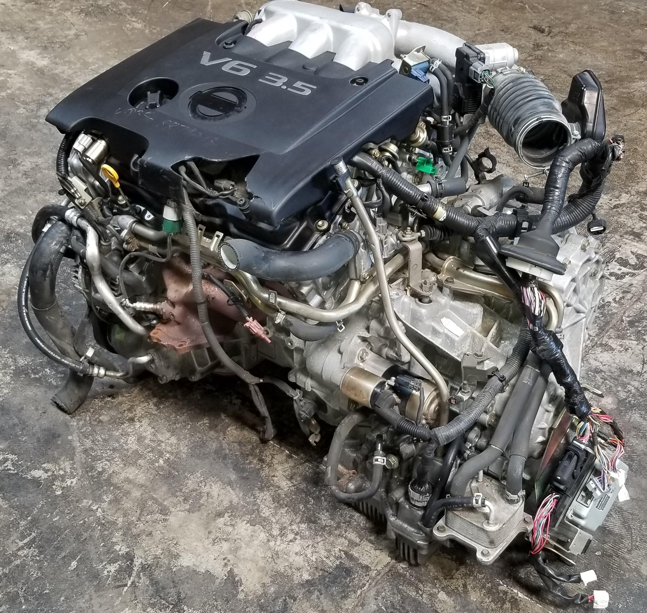 Vq35de Jdm 2003 2007 Nissan Altima Maxima Murano Quest 3