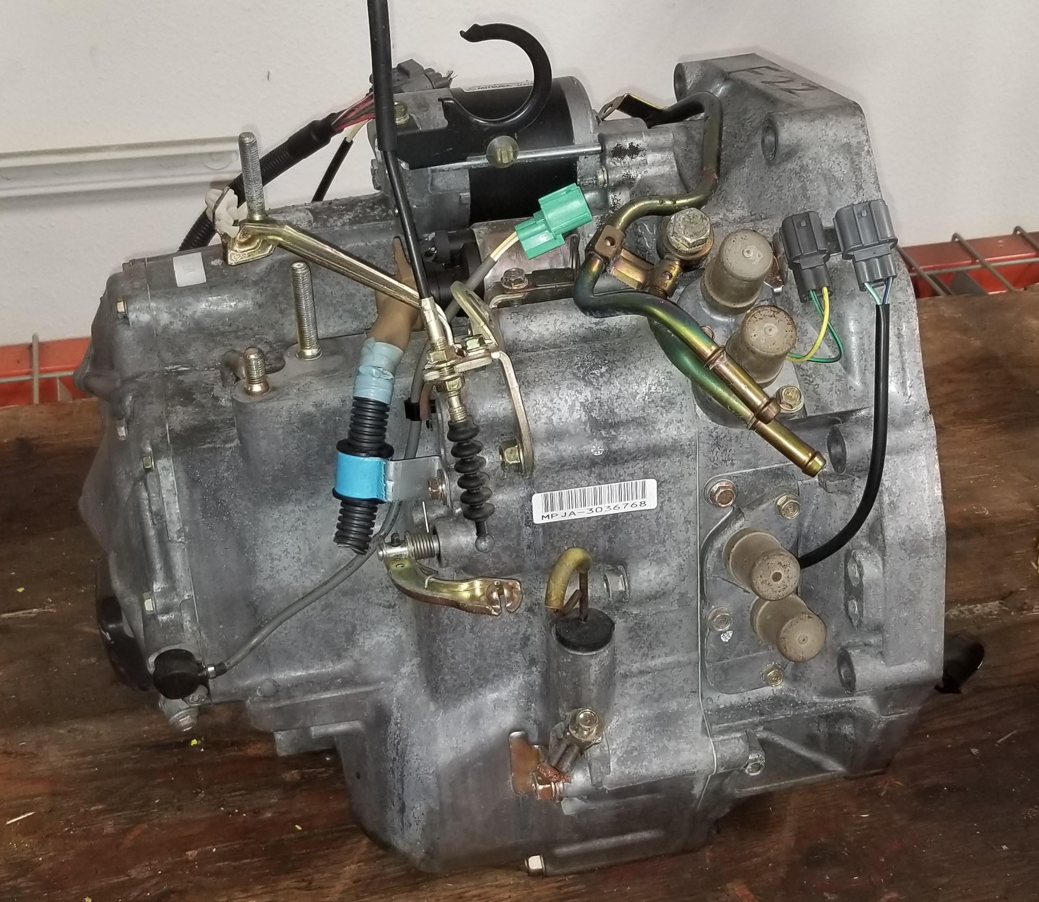 honda transmission accord automatic 1997 auto f22 mpja odyssey 2l 1994 f22b