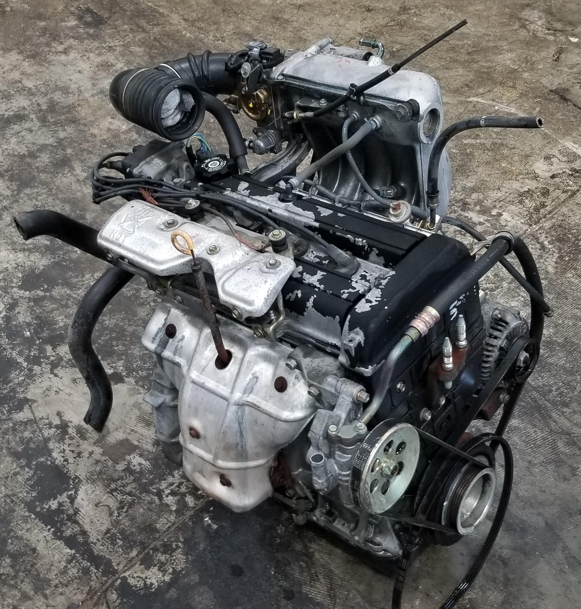 B20B 1997-1999 JDM Honda CRV Civic Integra B20 DOHC Engine Non-Vtec Low Comp | JDM Of San Diego