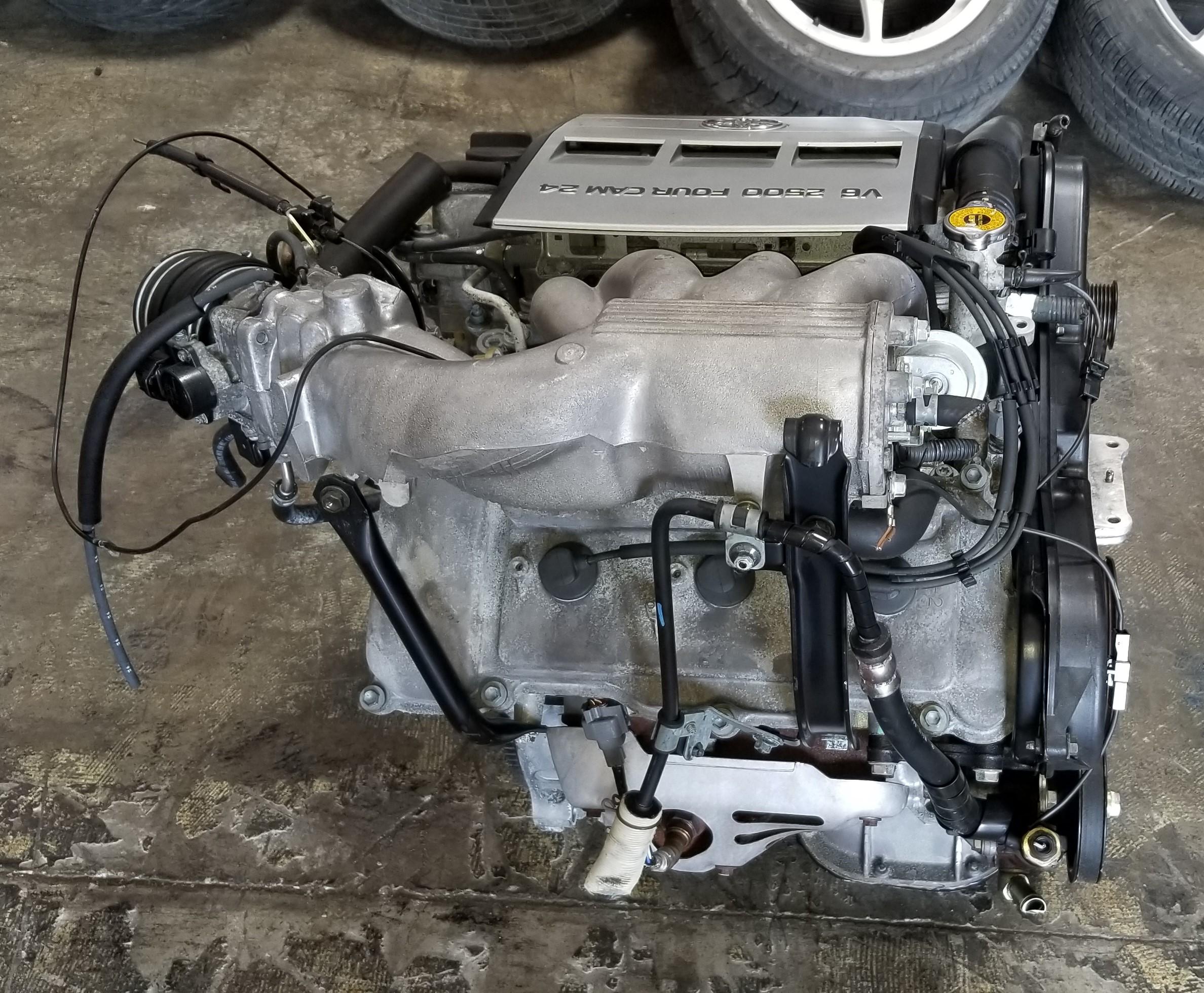 2mz fe 1994 2001 jdm toyota es300 solara camry avalon 2 5l v6 2mz rh jdmofsandiego com Toyota 4.0 Engine Diagram Toyota JZ Engine