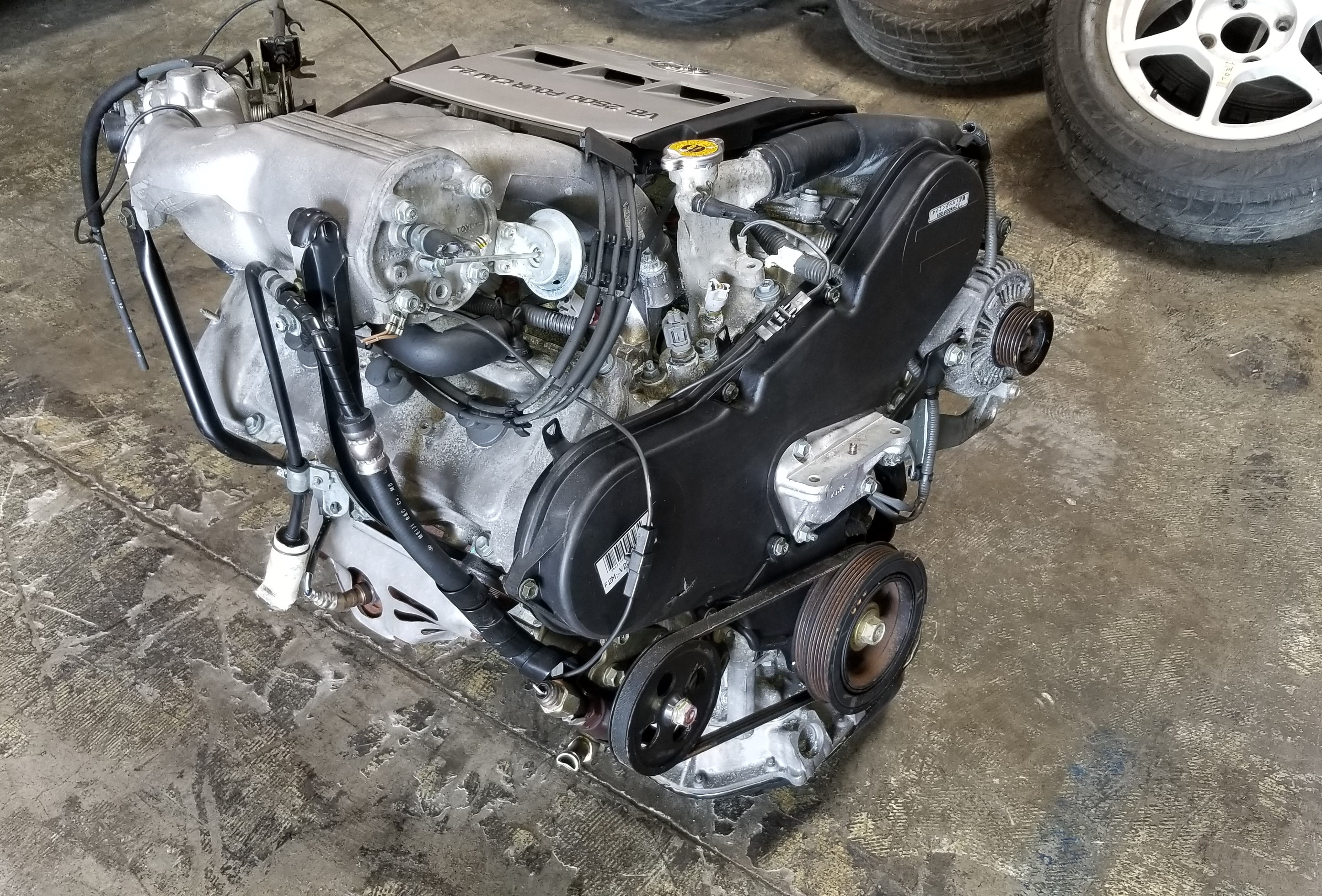 2mz fe 1994 2001 jdm toyota es300 solara camry avalon 2 5l v6 2mz rh jdmofsandiego com Toyota 4.0 V6 Engine Toyota 1GR- FE Engine