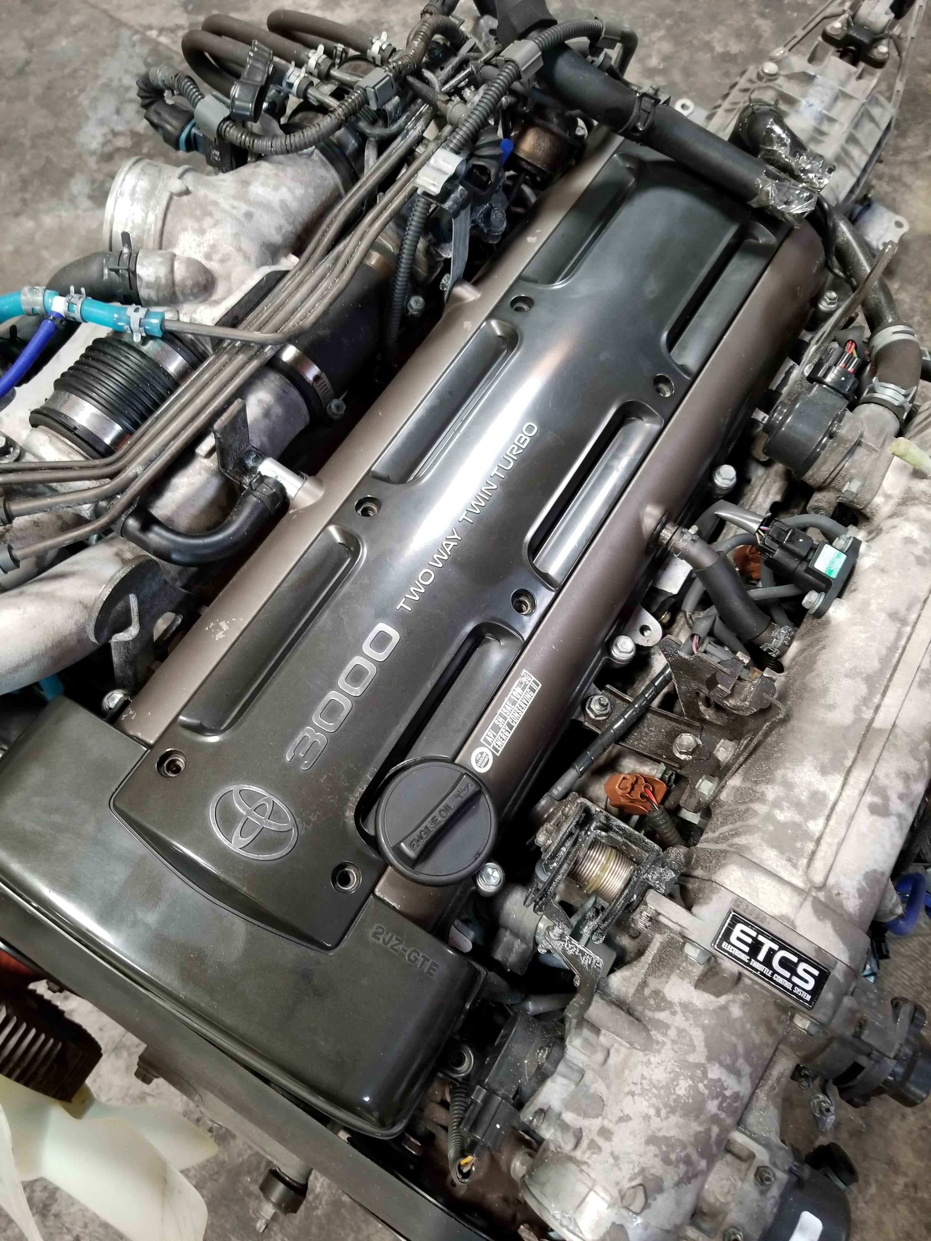 2JZGTE JDM GETRAG 6 Speed Manual Transmission V160 MK4 Supra Rear