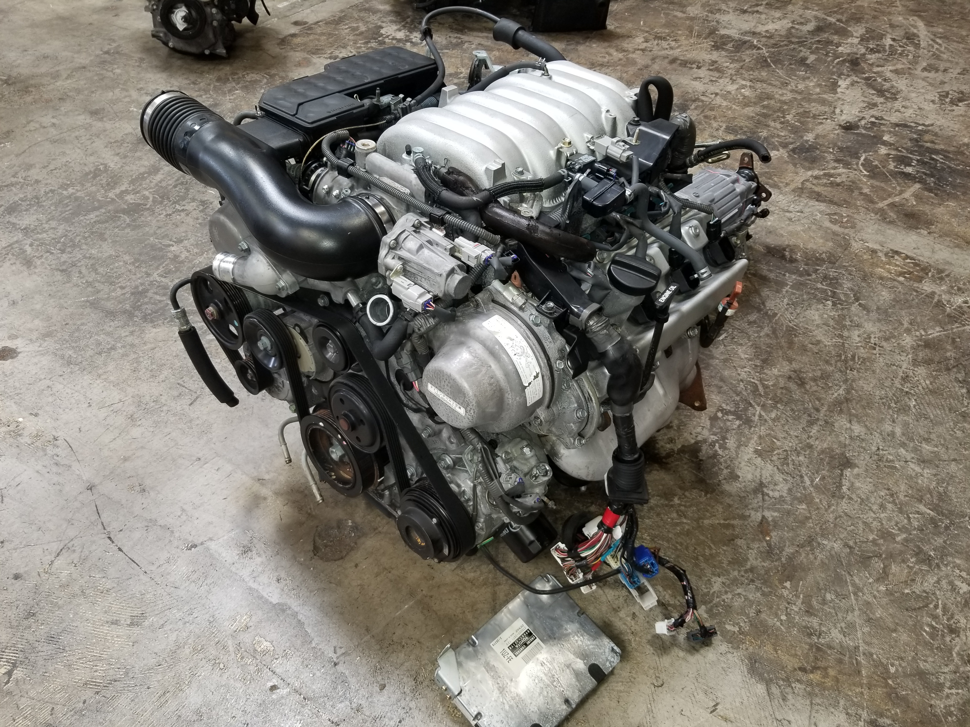 1uz  U2013 1998 2000 Lexus Sc400 Ls400 4 0l Engine Jdm 1uz