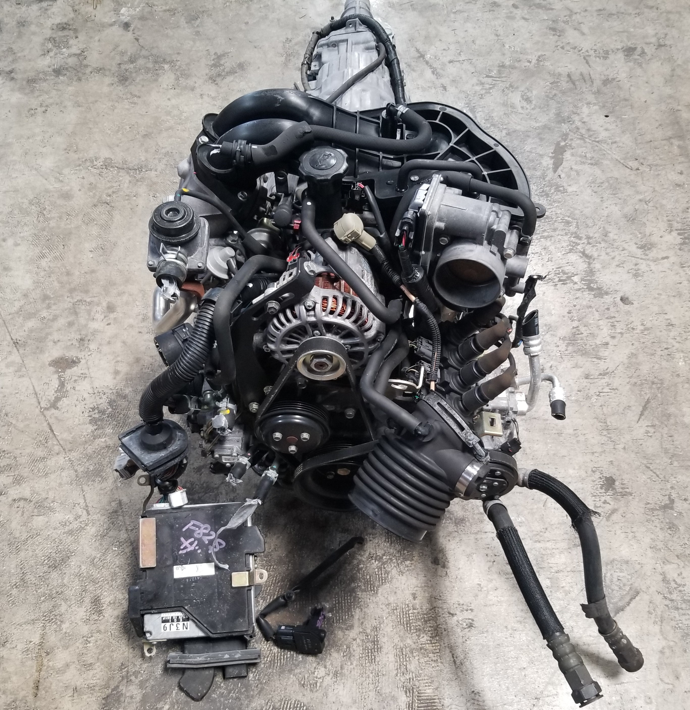 13b Engine: RX8 Mazda 13B 4 Port Renesis 1.3L Rotary Engine Swap Auto