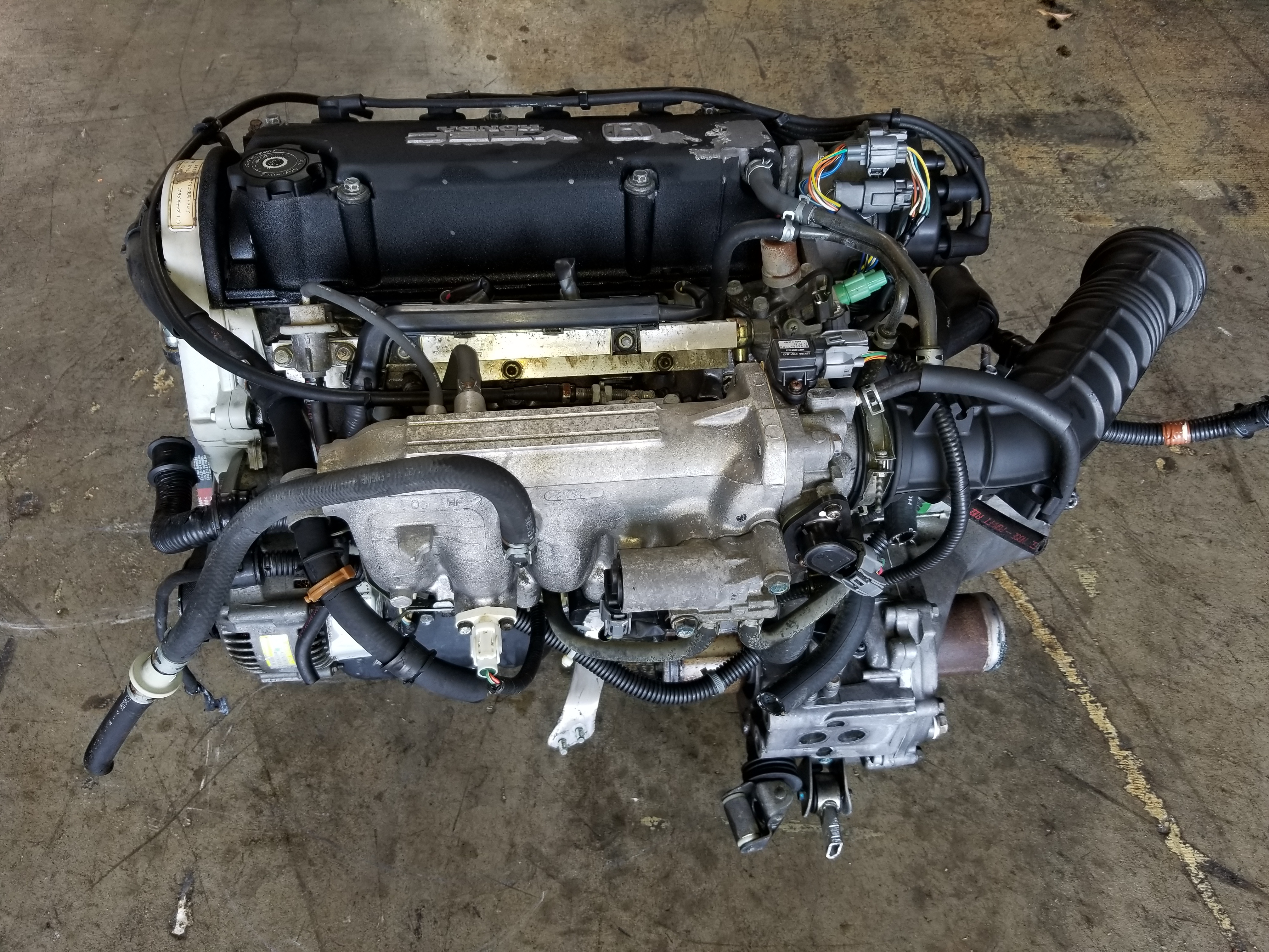 vtec   honda civic  sohc jdm replacement dy engine db obd jdm  san diego