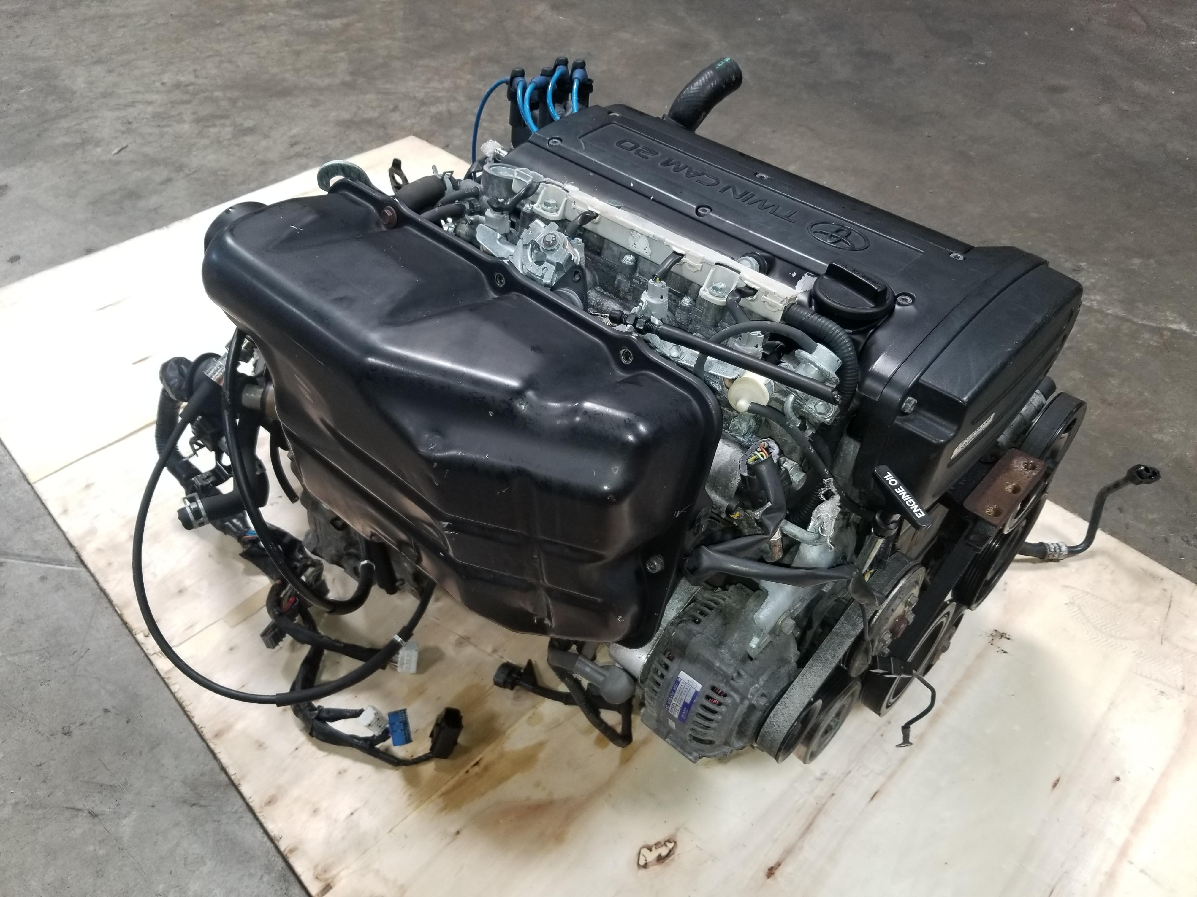 Nissan Chula Vista >> 4AGE 20V Blacktop Engine with 6 Speed Manual Transmission Toyota Corolla Trueno Levin AE111 ...