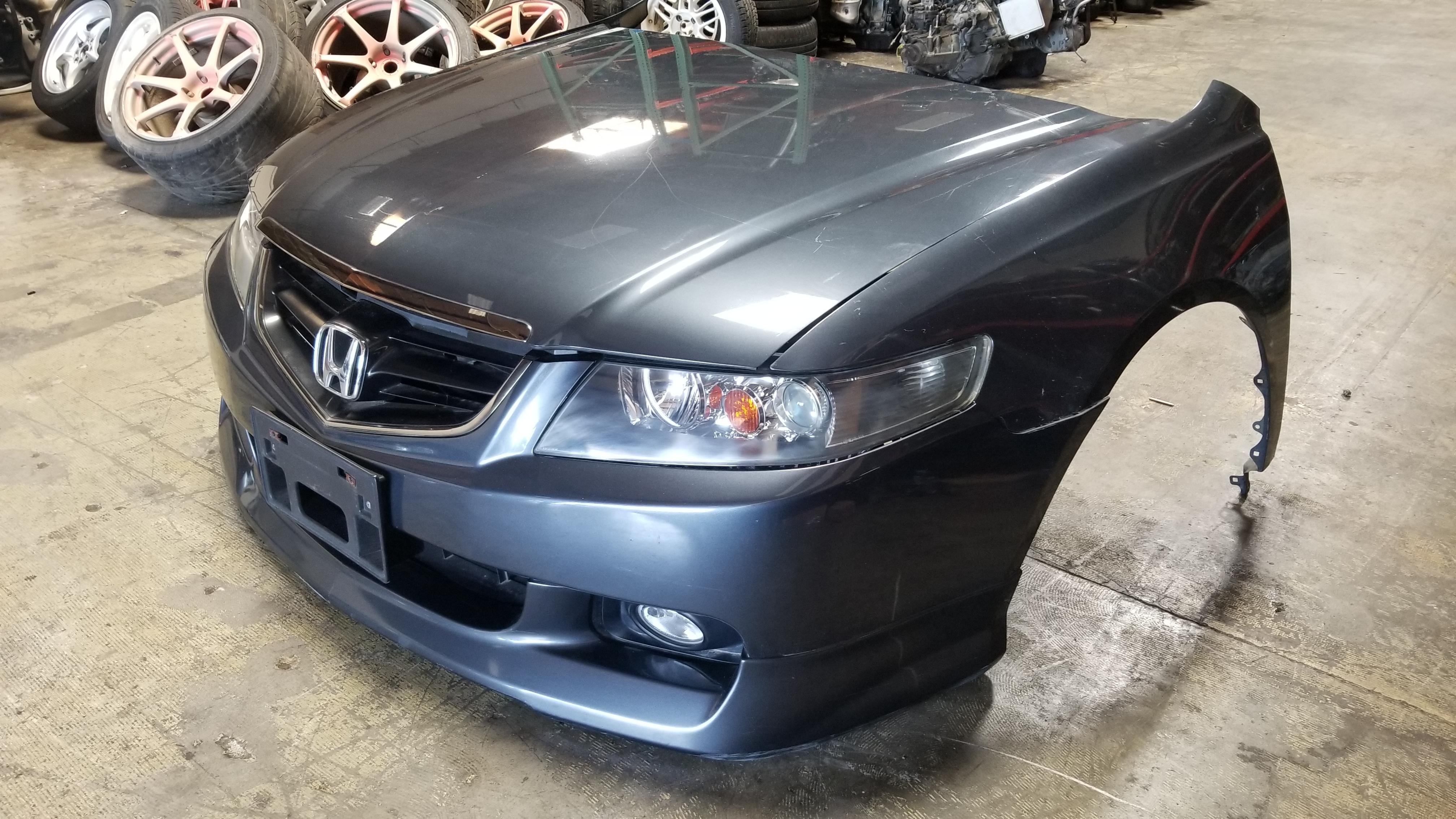Nissan Chula Vista >> TSX 2004-2007 ACURA TSX JDM FRONT END CONVERSION NOSE CUT CL7 HONDA ACCORD GREY 4DR | JDM Of San ...