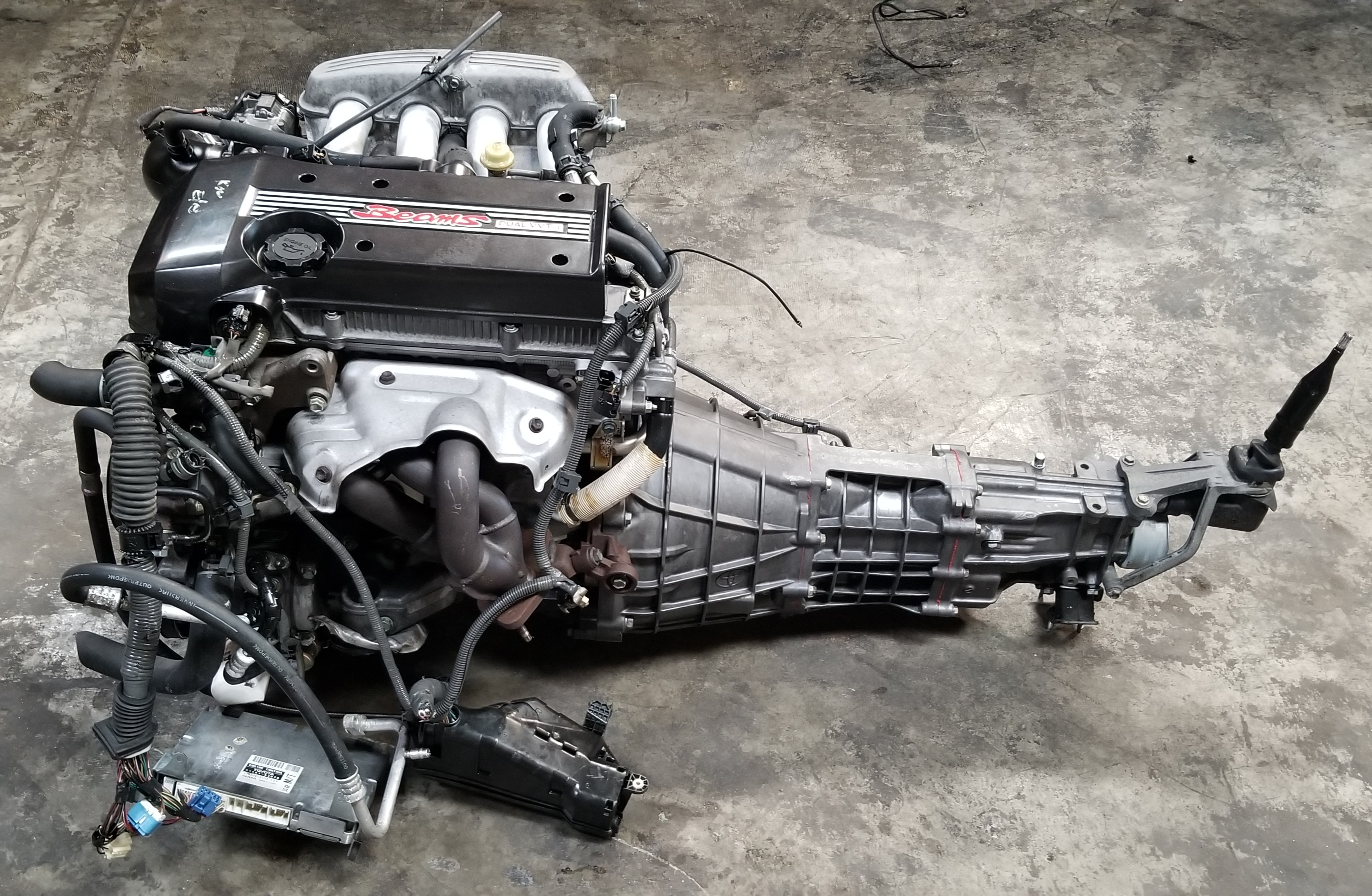 Genuine Toyota Parts >> BEAMS 3SGE 2.0L Dual VVTi Engine with RWD 6 speed Manual Transmission Complete Swap JDM 1998 ...