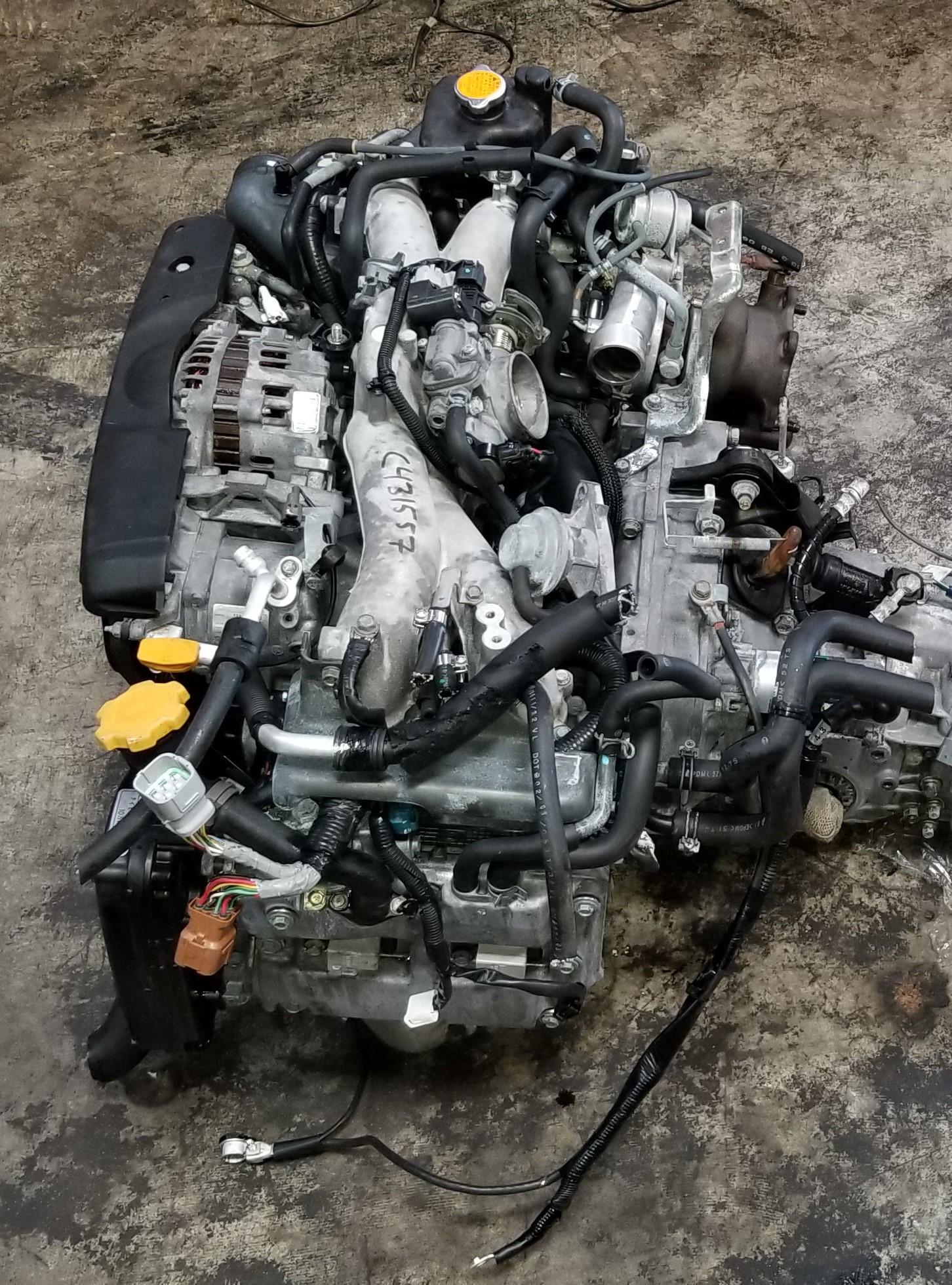 EJ205 AVCS 2002-2005 SUBARU WRX FORESTER LEGACY JDM TURBO COMPLETE ENGINE  EJ20T