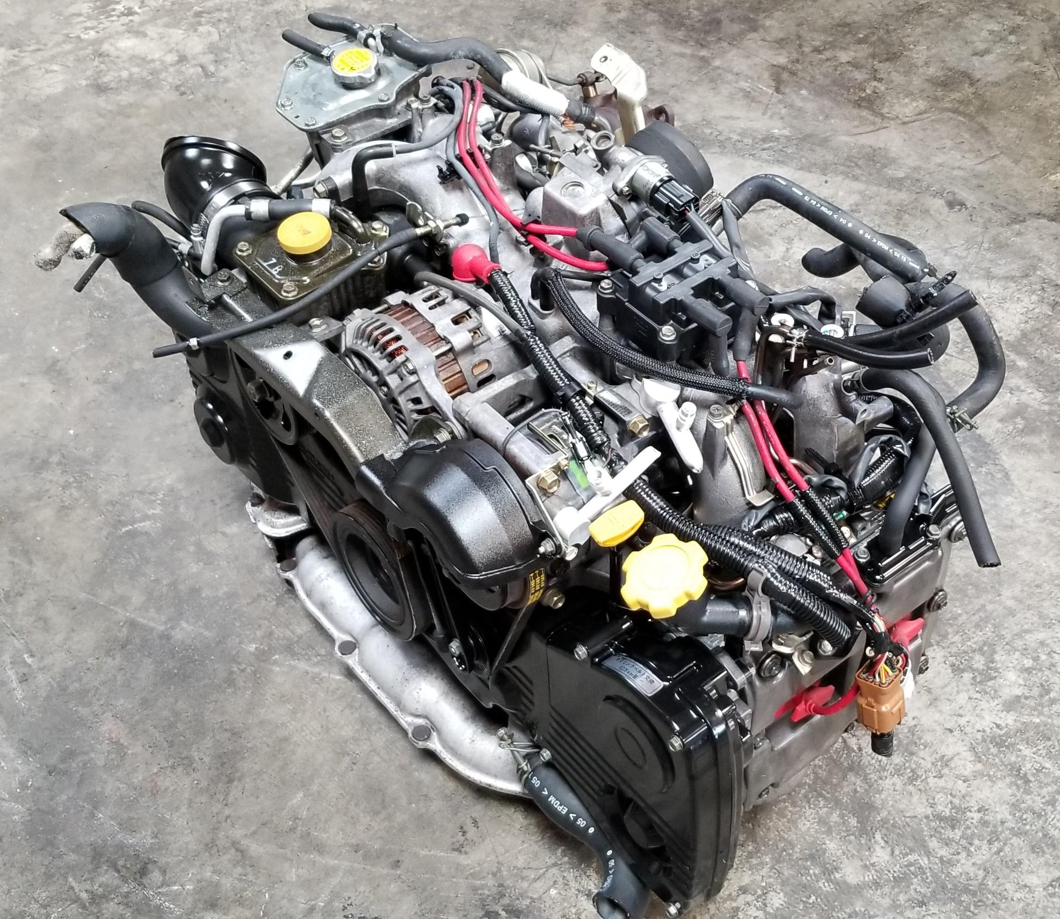 EJ205 Non-AVCS JDM Engine 02-05 Subaru Forester Impreza WRX complete motor  turbo 2 0L SF5