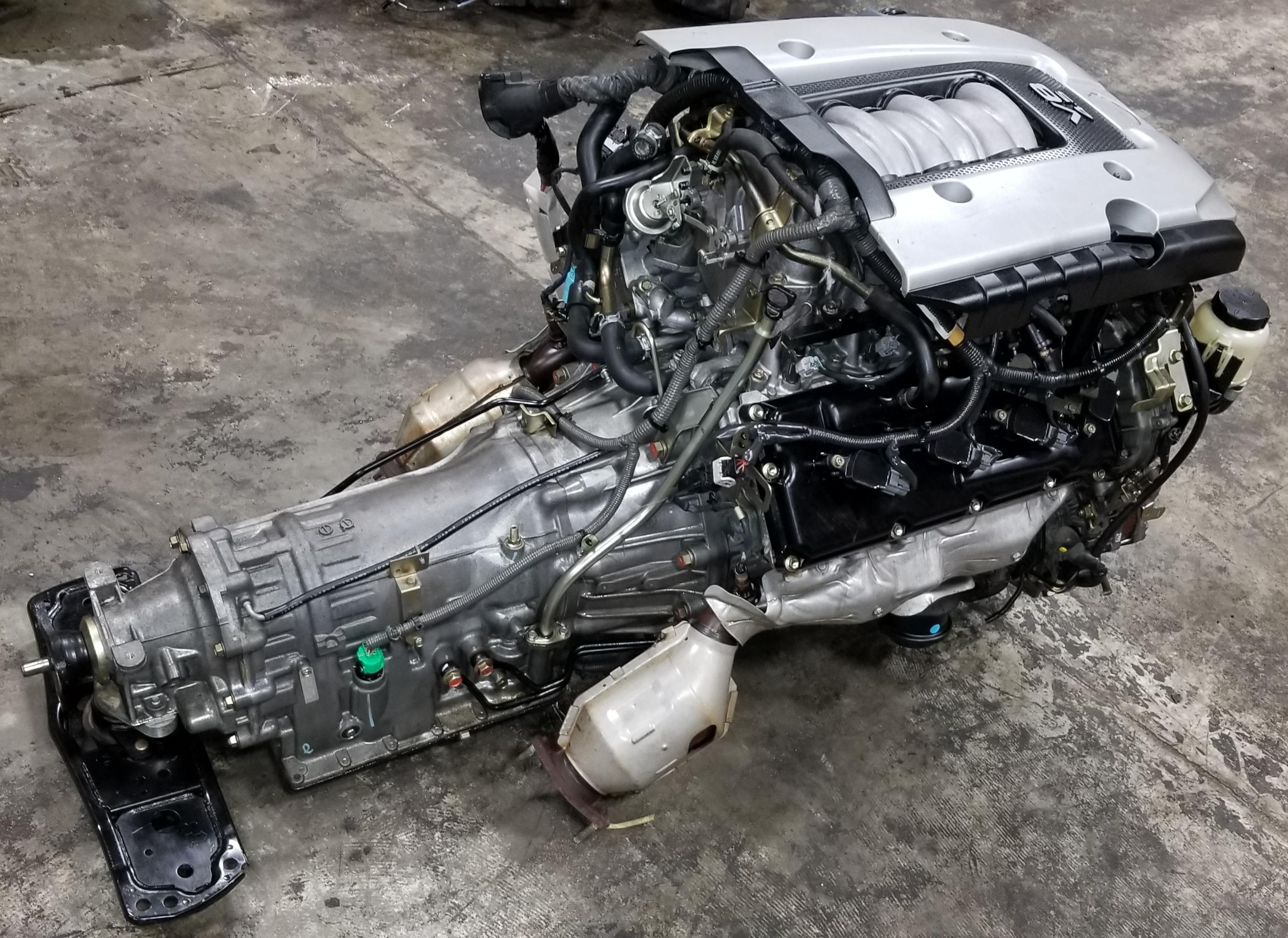 VK45DE INFINITY RWD Q45 M45 FX45 2002 2010 JDM COMPLETE ENGINE TRANSMISSION on