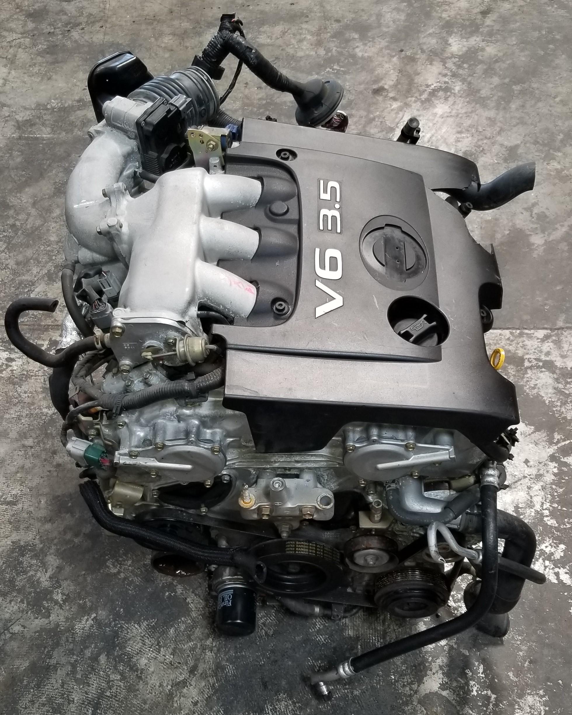 Quest Auto Parts >> VQ35DE JDM 2003-2007 Nissan Altima Maxima Murano Quest 3.5L VQ35 V6 Engine Trans | JDM Of San Diego