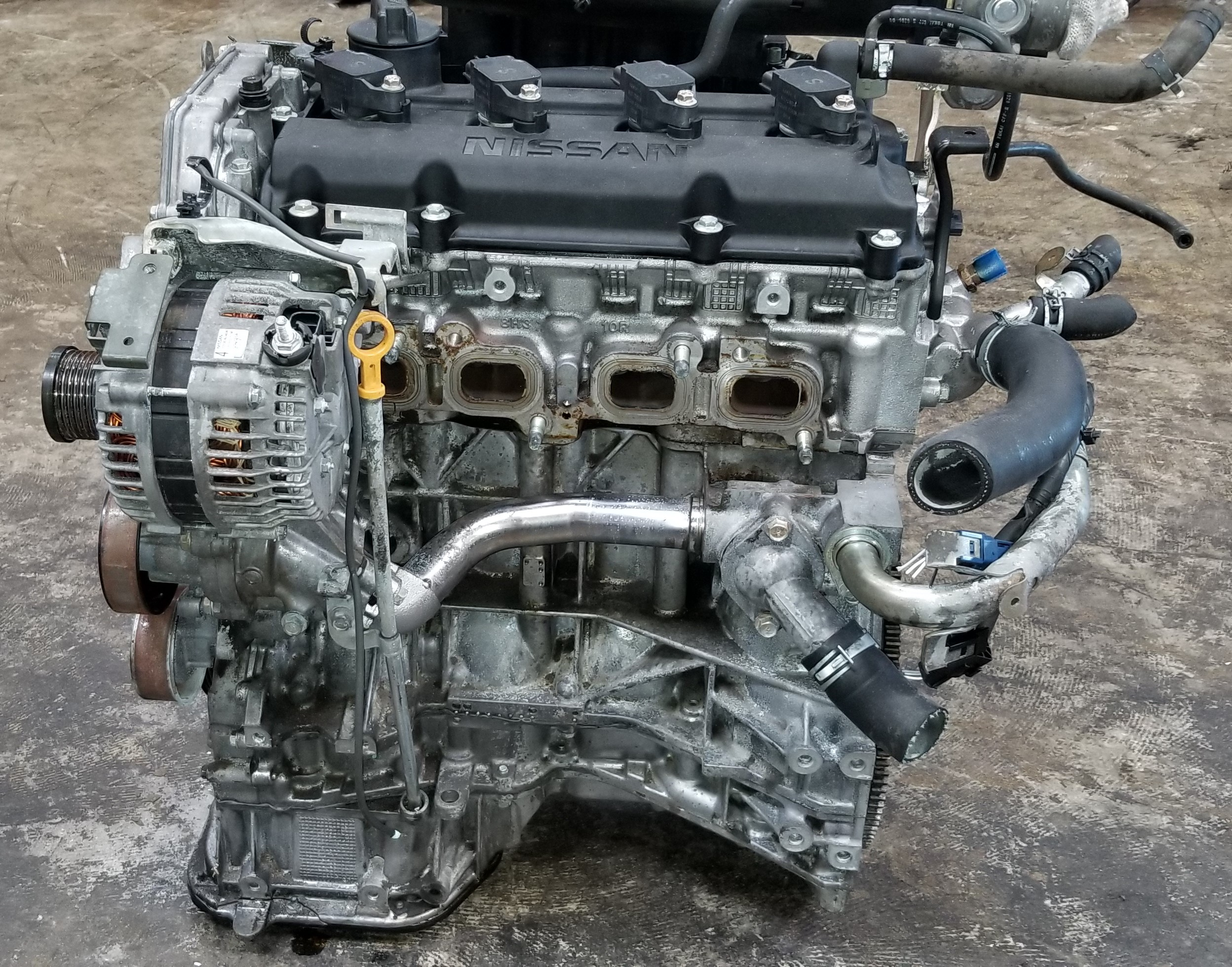 Qr25de 2002 2006 Qr25 Nissan Altima Sentra 2 5l Engine Jdm