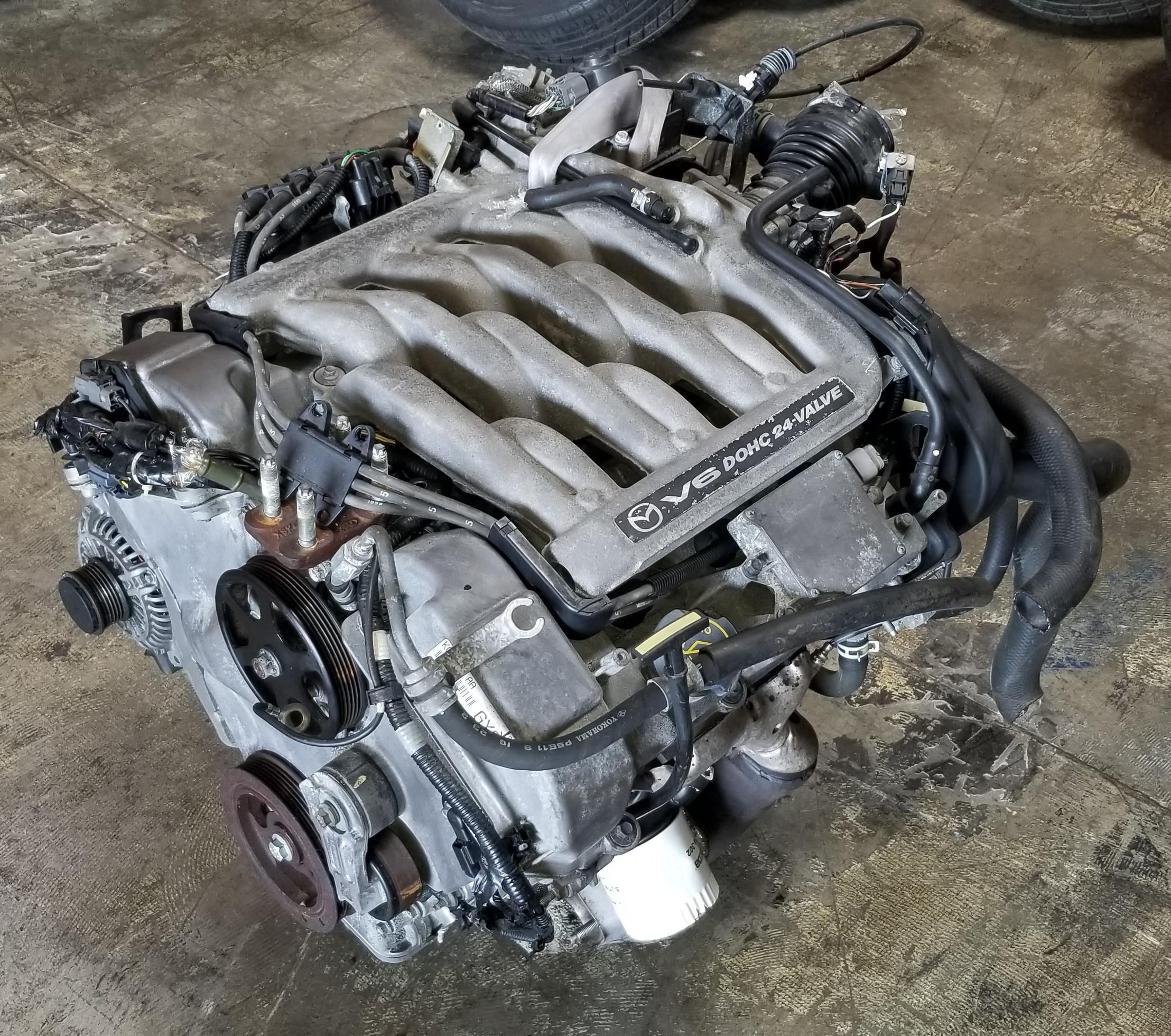 GY-DE 1999-2001 JDM Mazda MPV GY-DE 2 5L V6 Engine