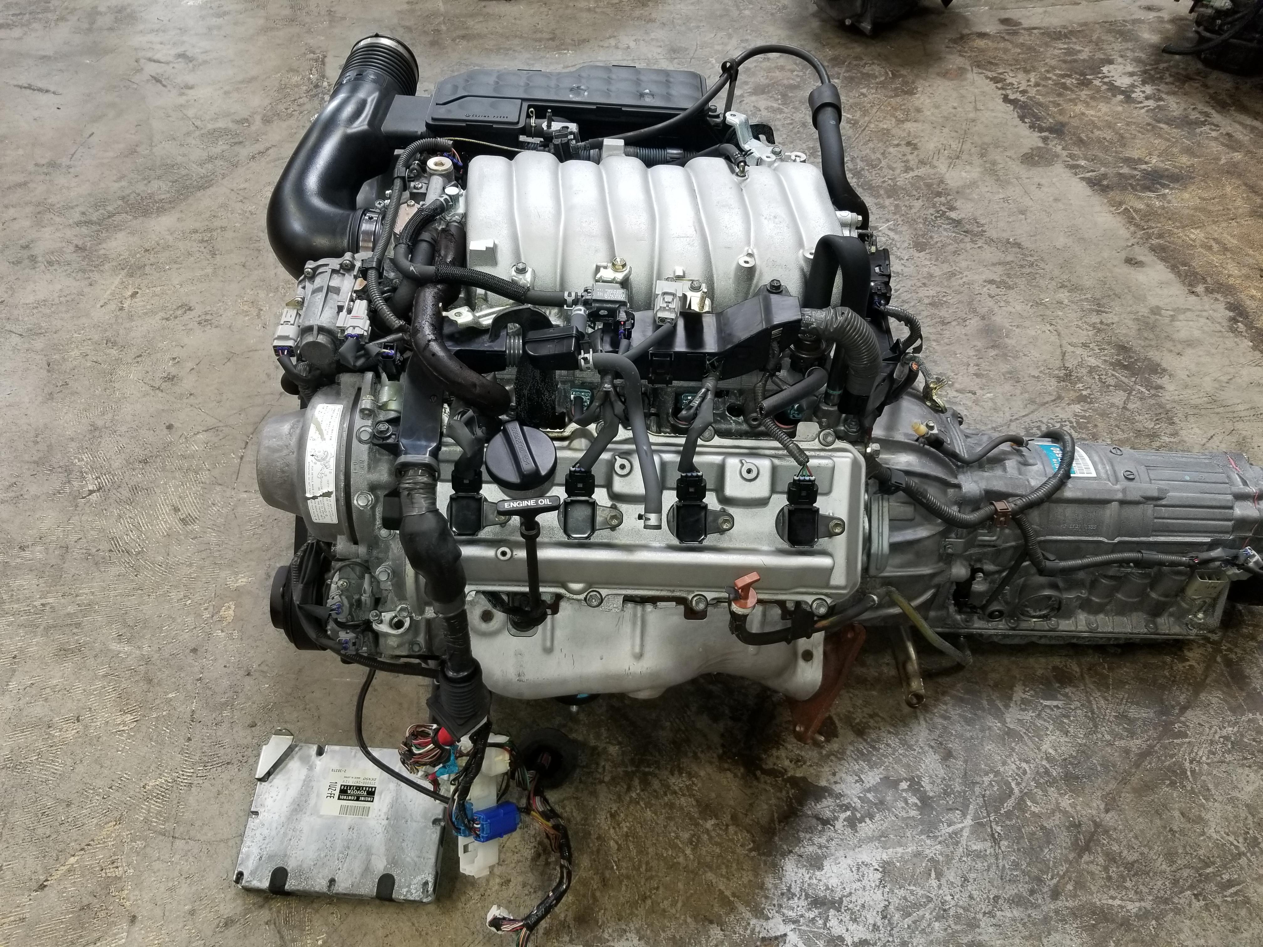 1uz – 1998 2000 Lexus SC400 LS400 4 0L Engine JDM 1UZ-FE VVTi V8 Motor  Toyota 1UZ