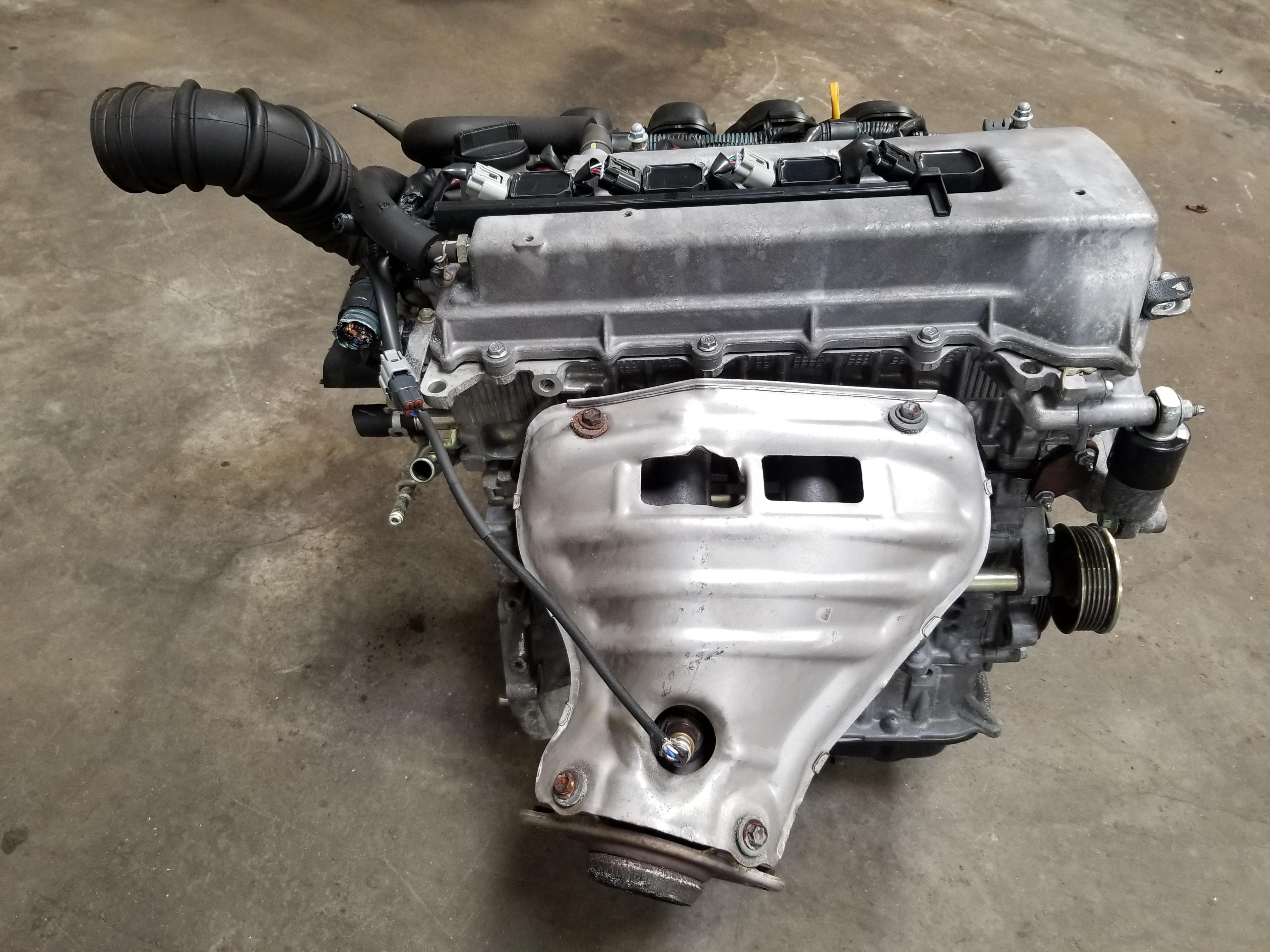 Фото двигателя на тойота с пояснениями