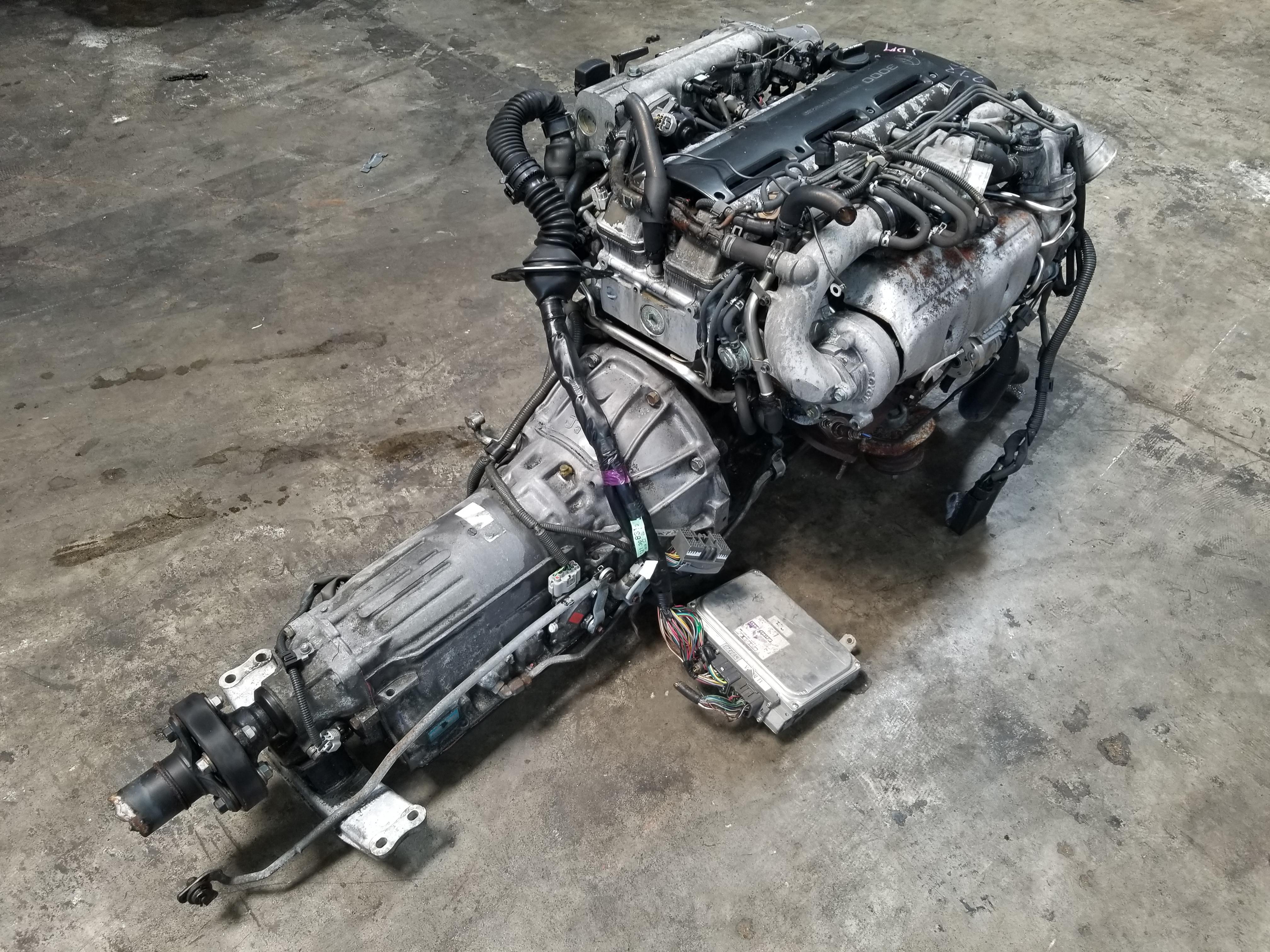 Nissan Chula Vista >> 2JZGTE Non-VVTi Twin Turbo 3.0L Toyota 2JZ Engine with Automatic Transmission Complete Swap ...