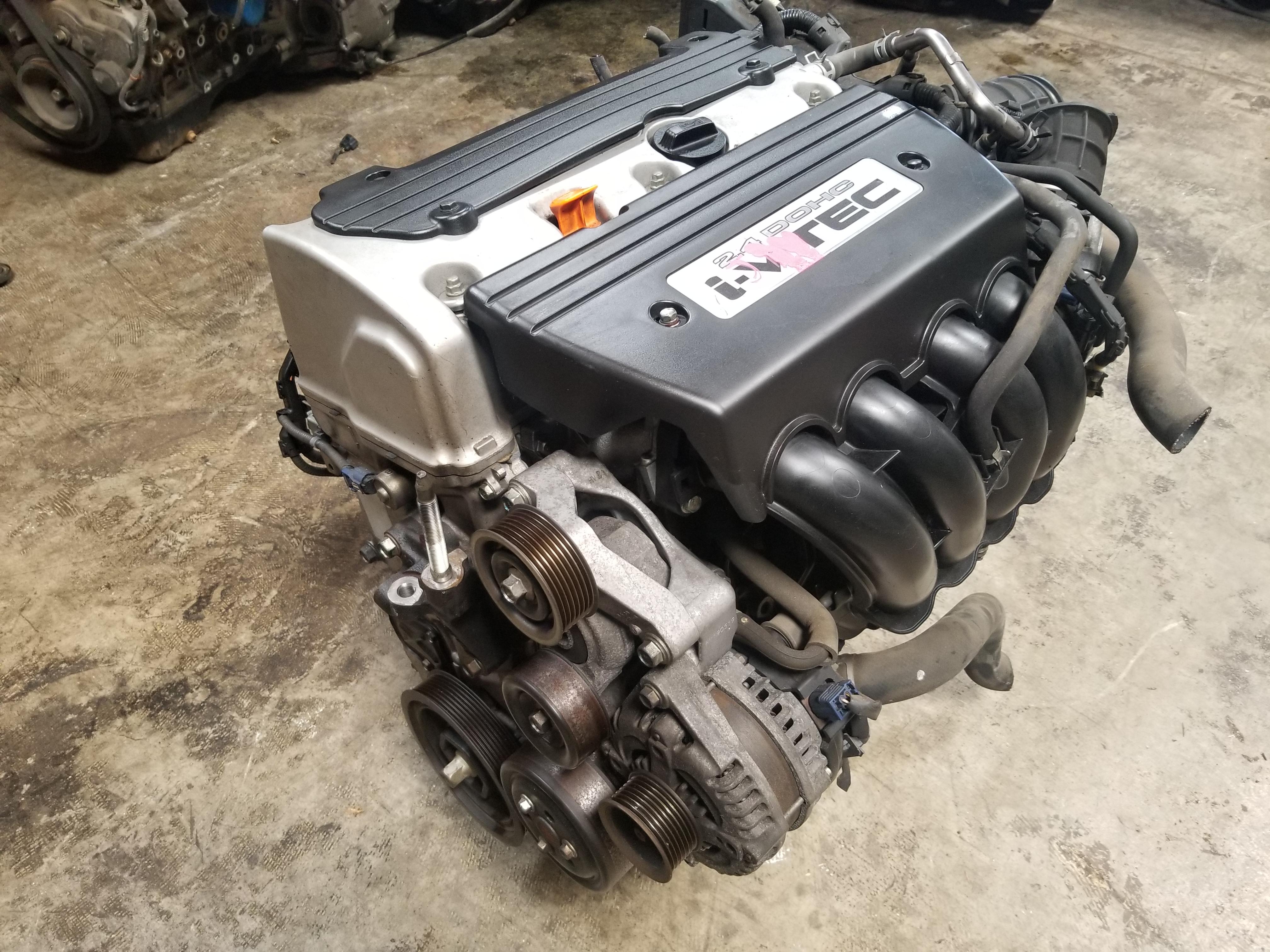 2.4 L Engine For Sale >> K24 2002 2007 Honda Crv Element 2 4 Engine Jdm K24a 2 4l Motor Plastic Intake