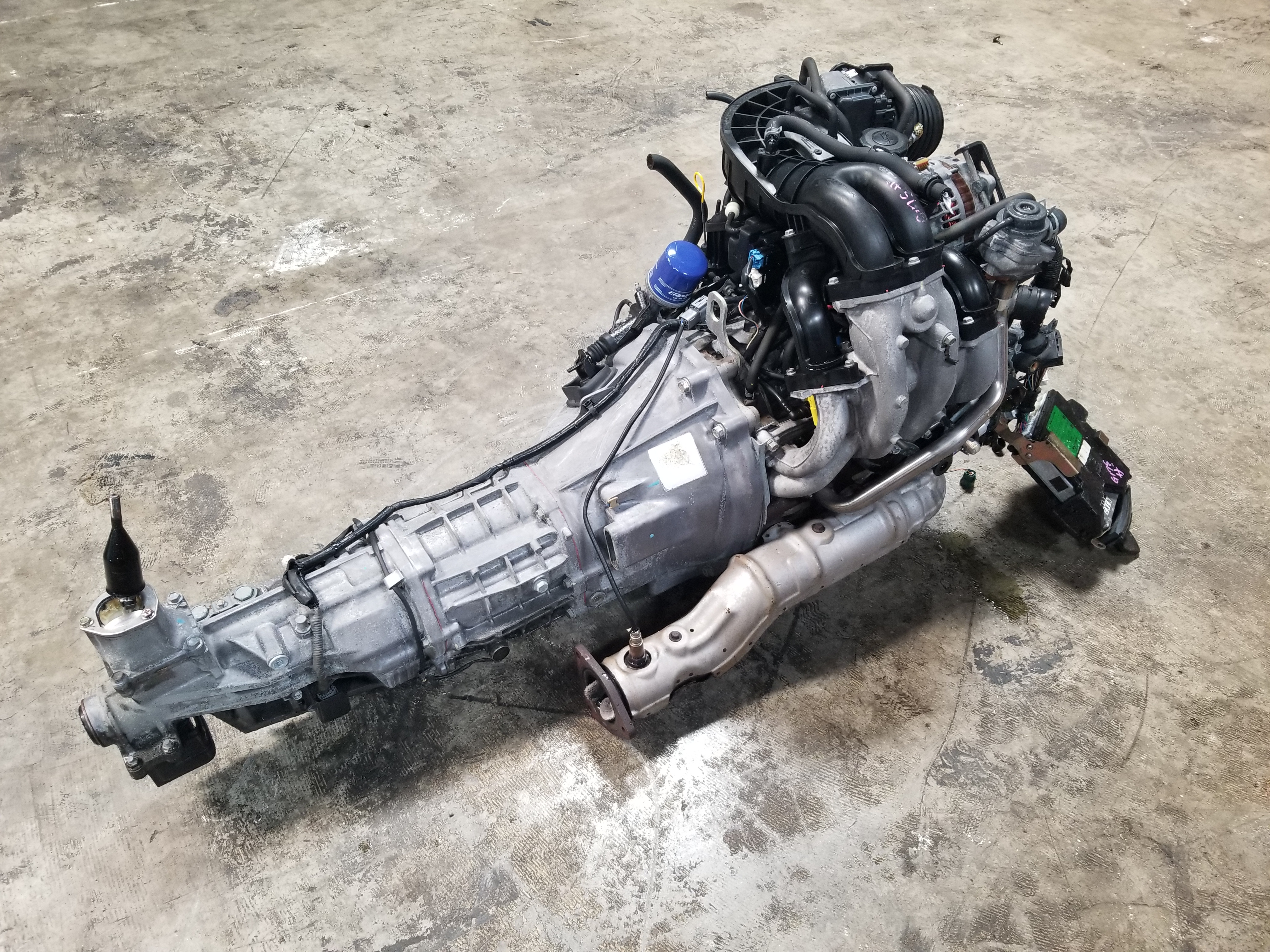 RX8 Mazda 13B 6 Port Renesis 1 3L Rotary Engine Swap 6 Speed Manual ECU MT  Motor