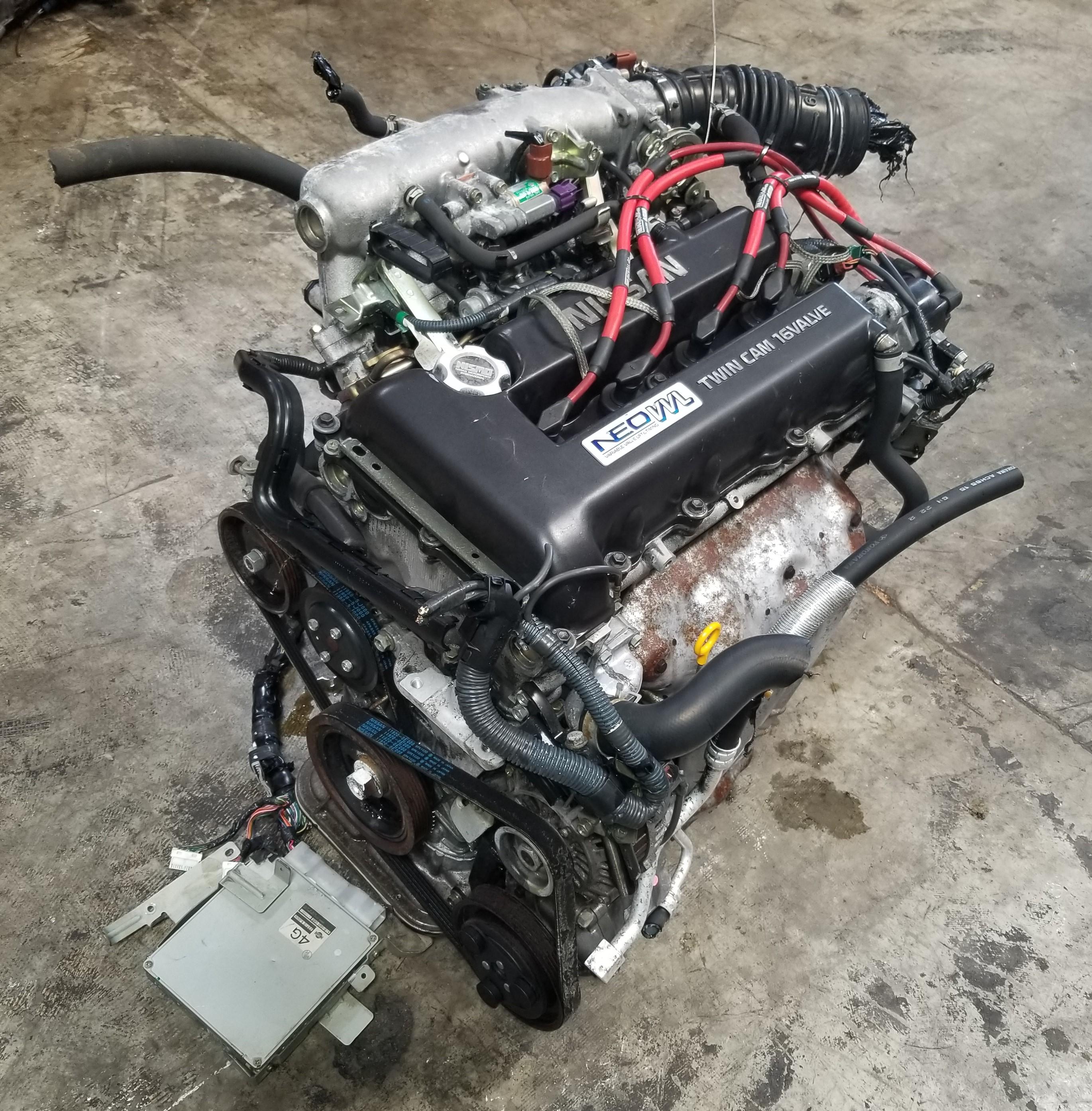 SR20VE NEO VVL SR20 ENGINE 1997-2001 NISSAN PRIMERA SR20DE