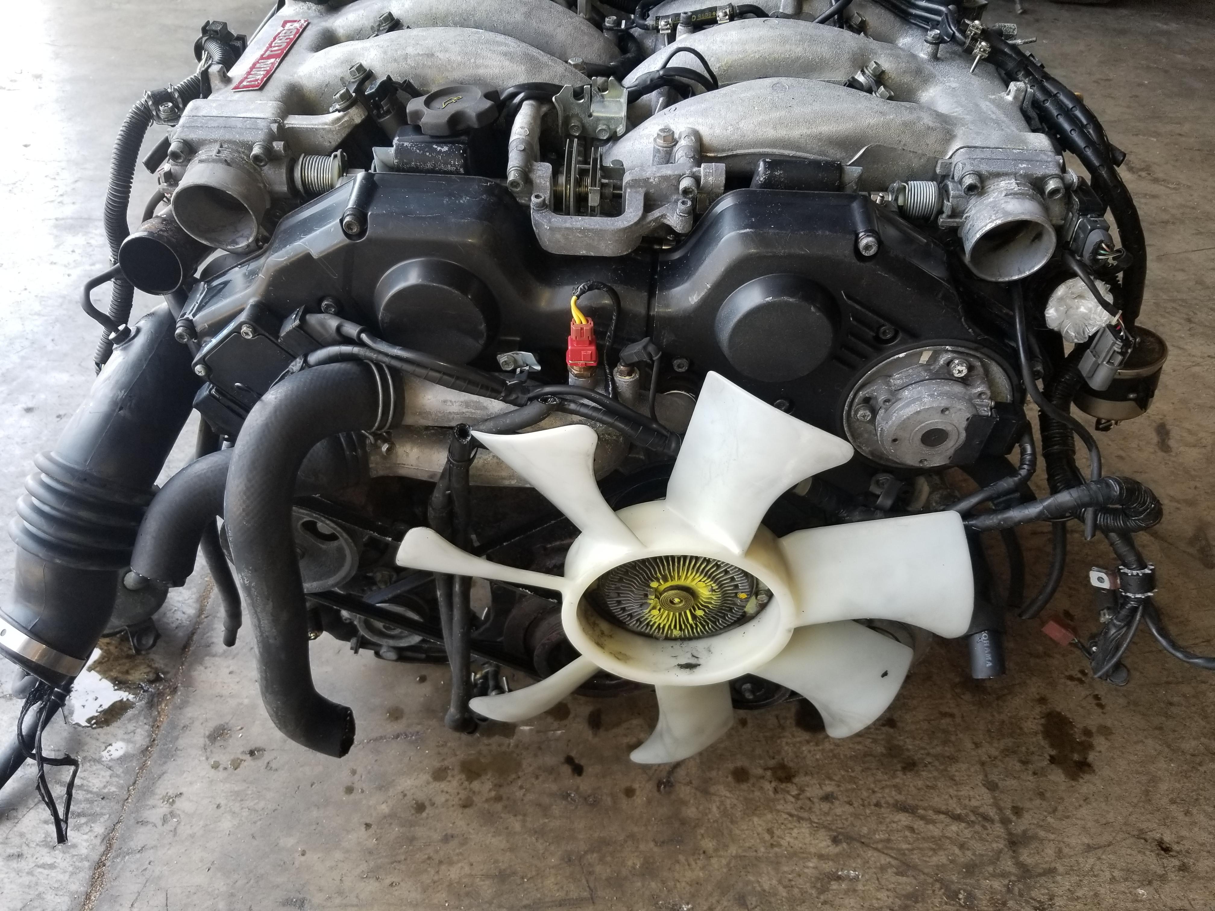 Nissan Chula Vista >> VG30DETT 1990 1996 NISSAN 300ZX Z32 TWIN TURBO 3.0 V6 JDM VG30DETT ENGINE With Automatic ...