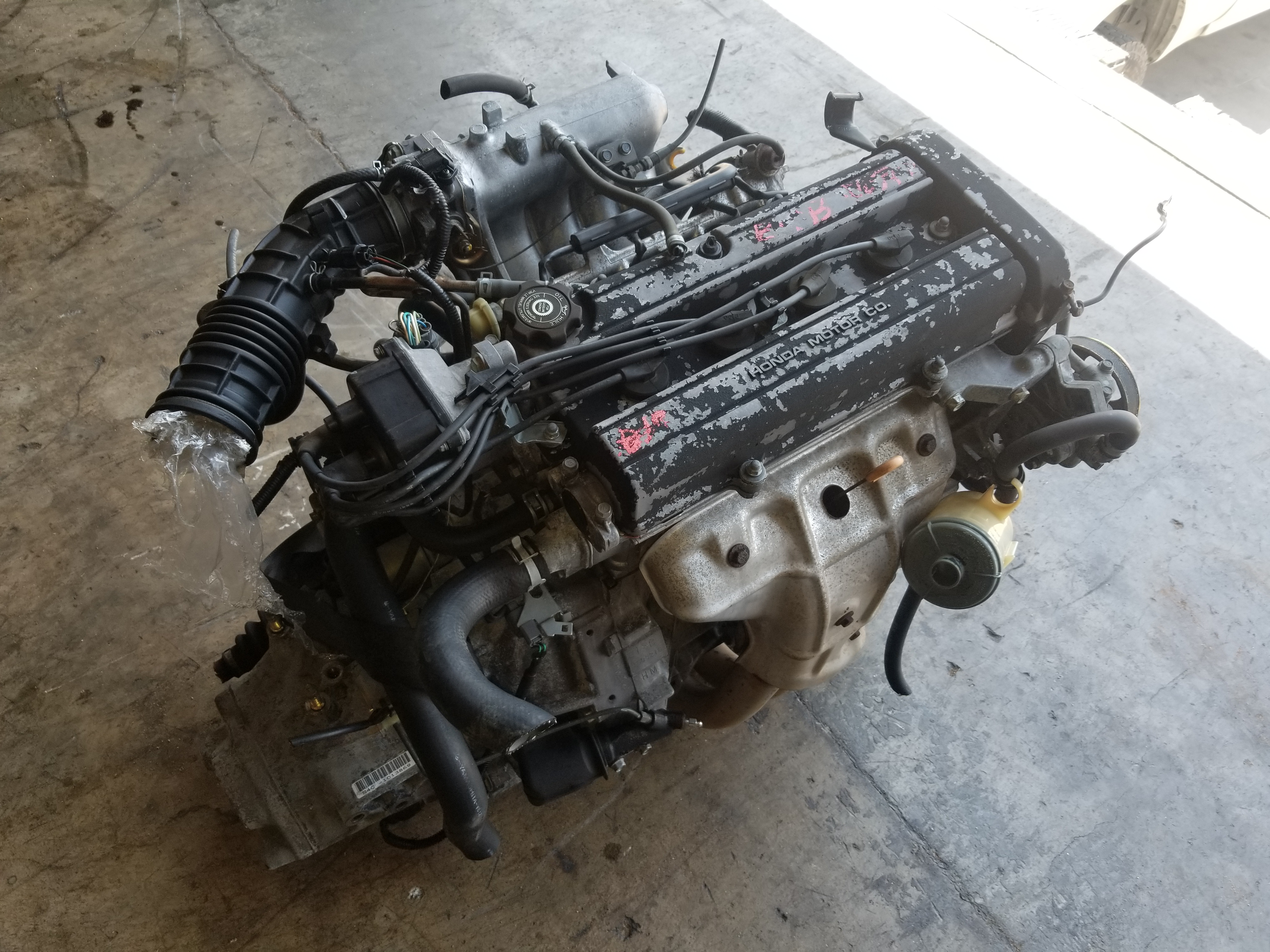 B18b 1994 2001 Acura Integra Ls B18 1 8l Engine With S4c 5 Manual Guide