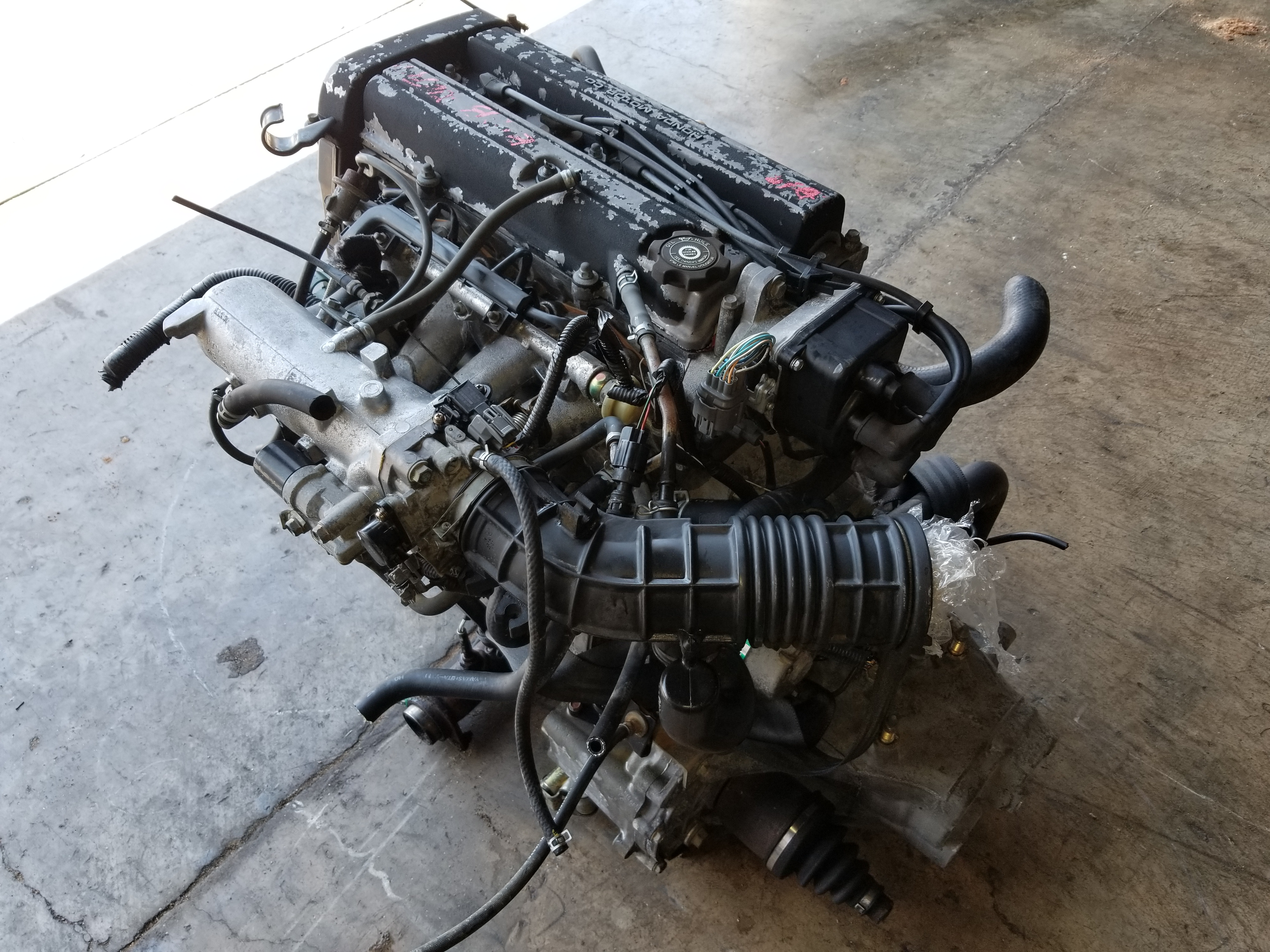 B18B 1994 2001 Acura Integra LS B18 1 8L Engine with S4C 5-Speed Manual  Transmission DC2 DB8