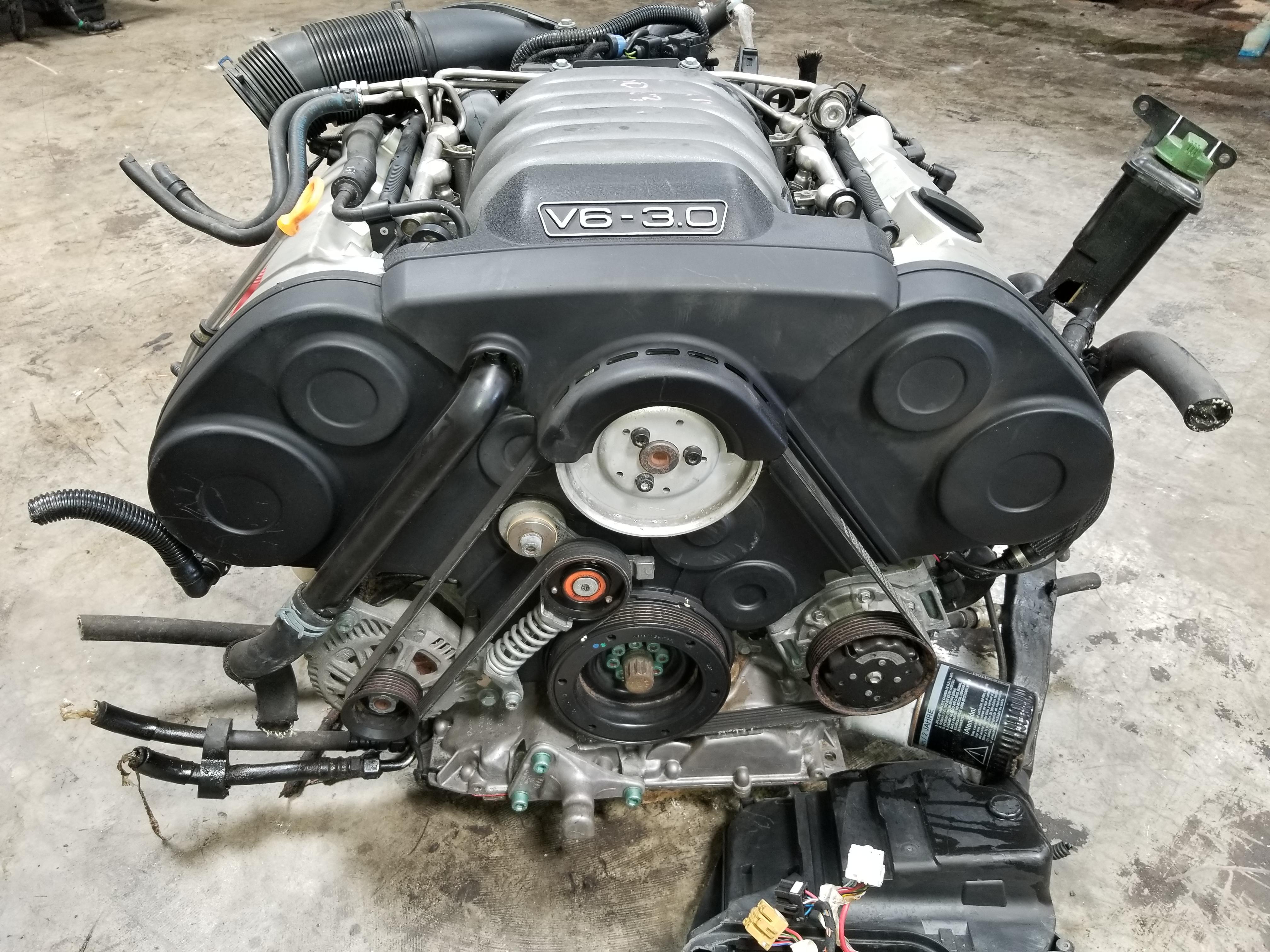 A4 2002-2003 Audi A4 Quattro 3.0 V6 Engine B6 AWD Auto Transmission on