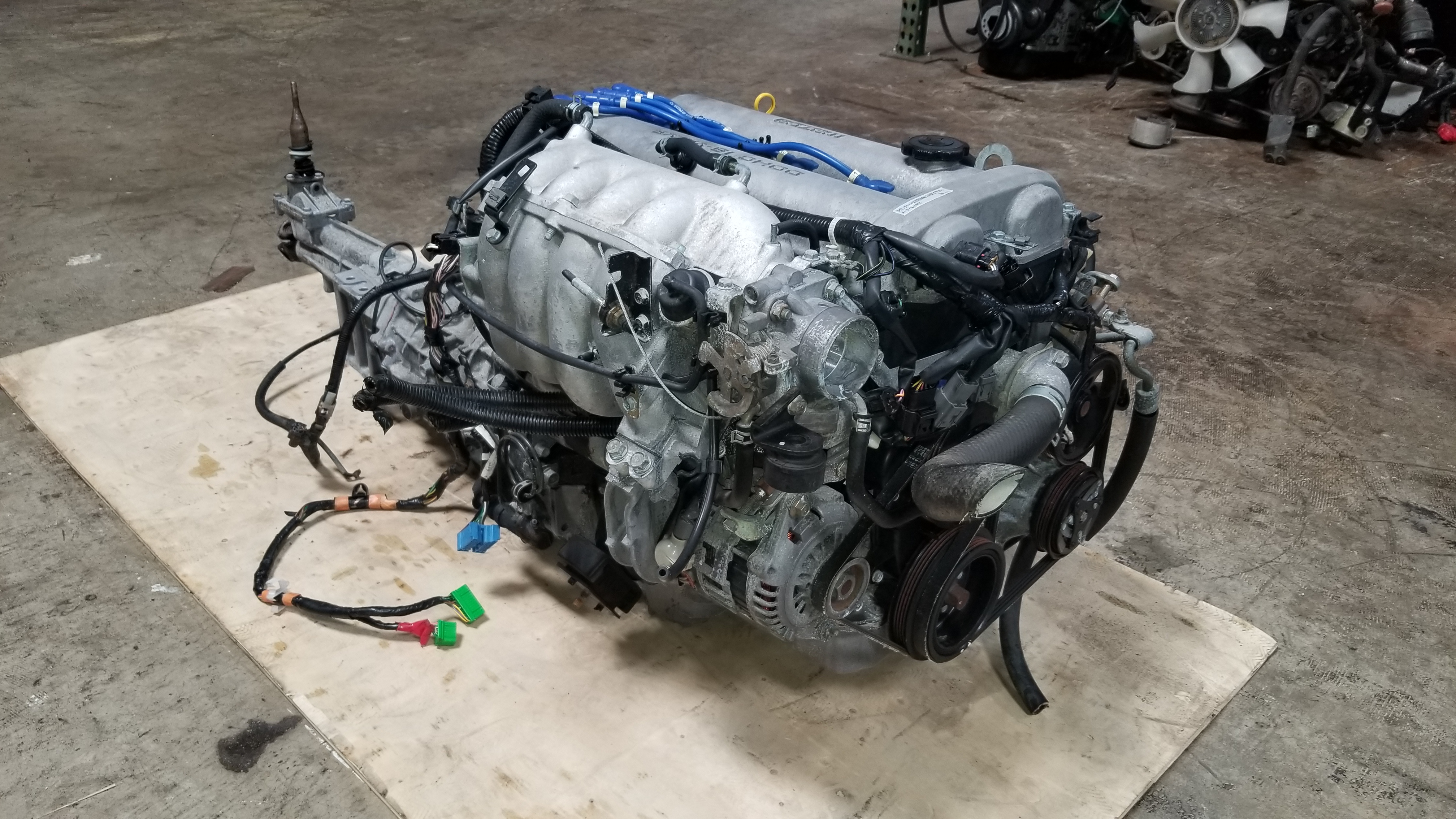 Nissan Chula Vista >> BP5A 1999 2000 Mazda Miata MX5 1.8L JDM BP5A Engine with 6-Speed Manual Transmission | JDM Of ...