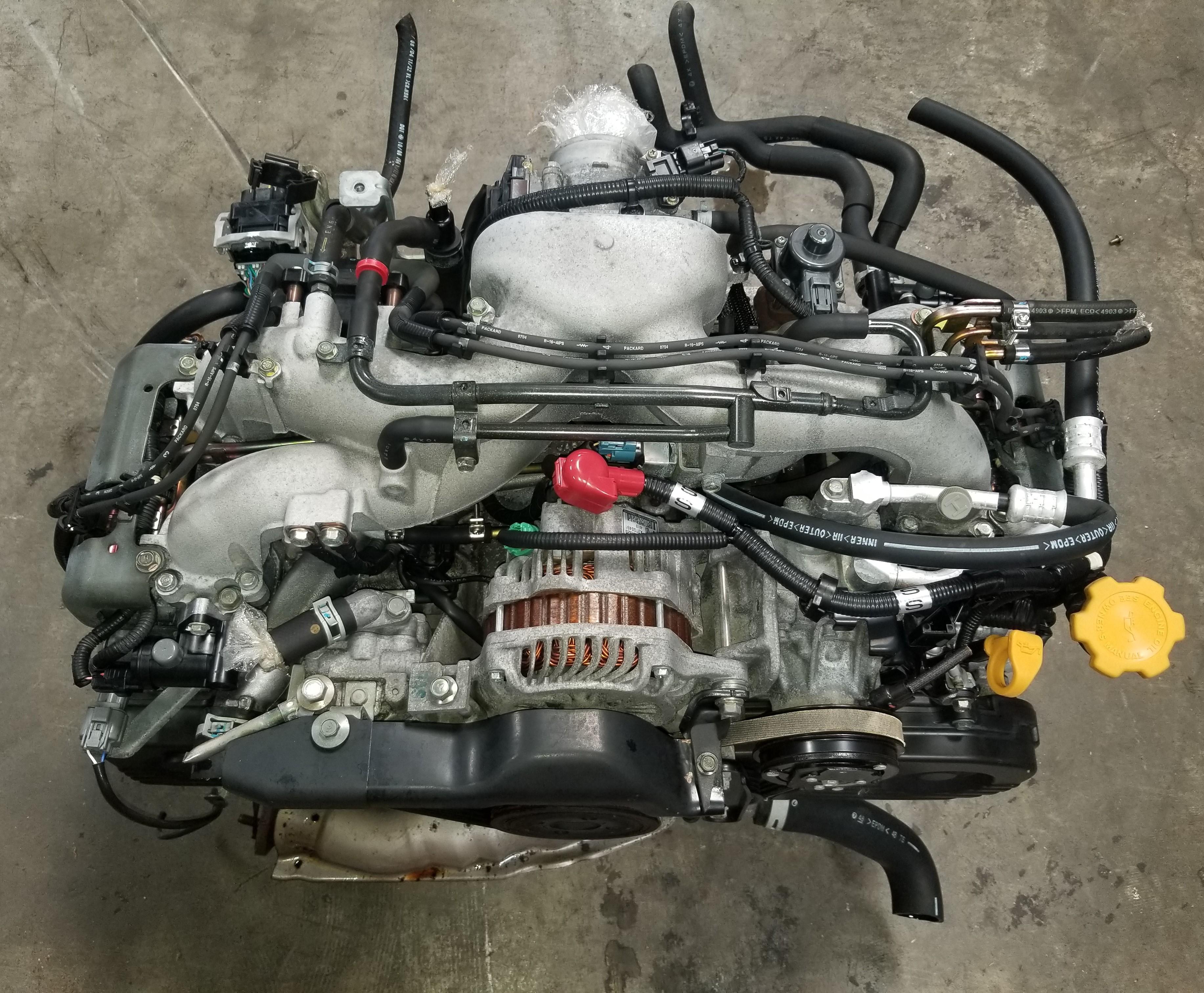 EJ25 2000 2005 SUBARU FORESTER LEGACY OUTBACK IMPREZA RS 2 5L SOHC ENGINE  JDM EJ25