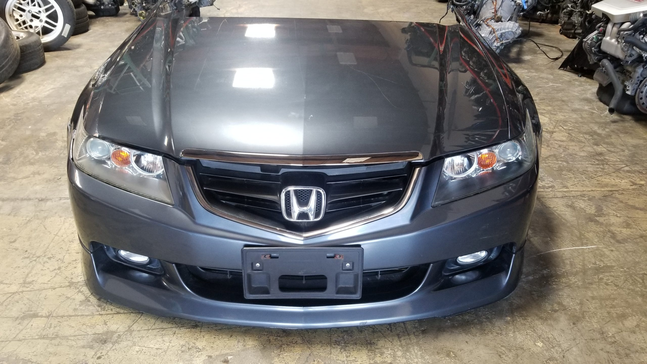 Tsx 2004 2007 Acura Tsx Jdm Front End Conversion Nose Cut Cl7 Honda Accord Grey 4dr Jdm Of San Diego